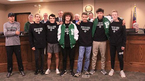 PHS Varsity Boys Cross Country