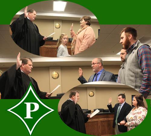 Pickens Board of Education Swearing-in Ceremony