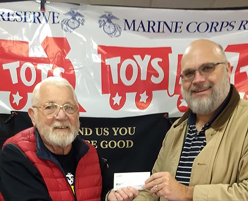 Pickens County Coin Club Supports Local Charities