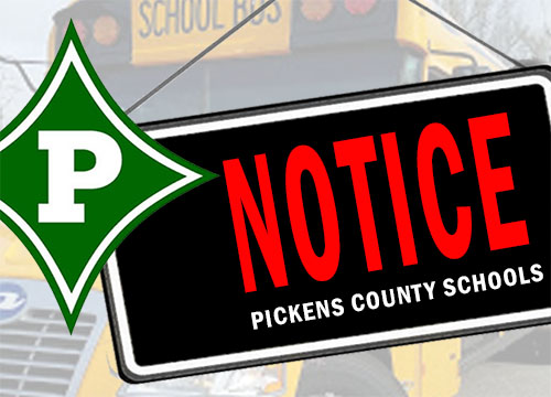 Pickens County Schools Closed Tuesday, February 11th