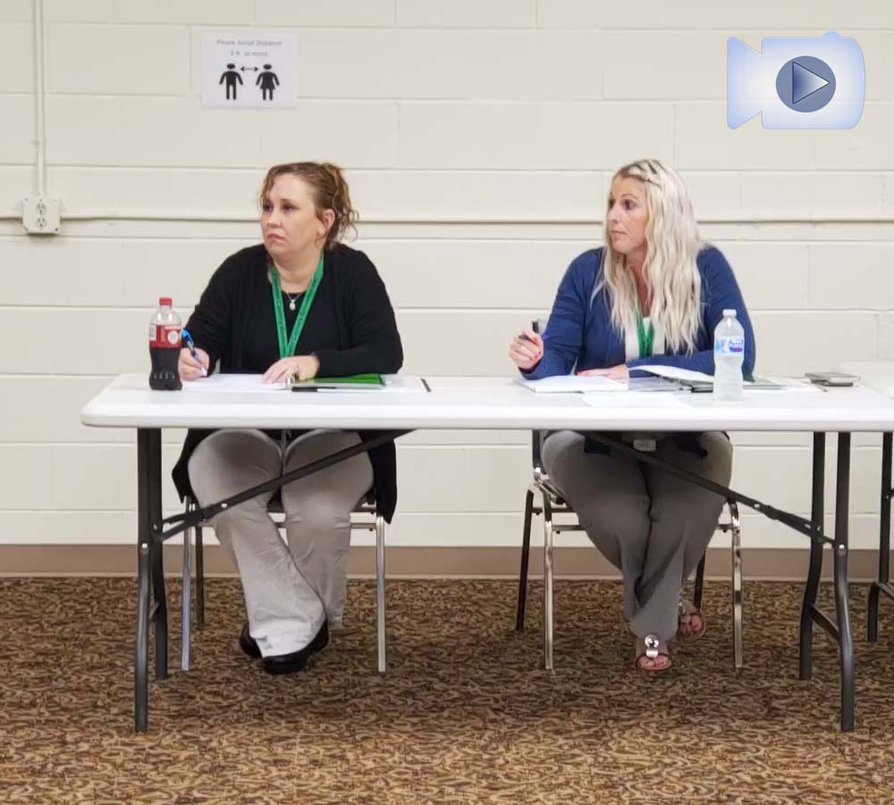 Pickens County Board of Elections and Registration October 2021