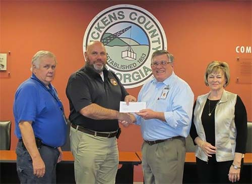 GEMA Awards Grant to Pickens County