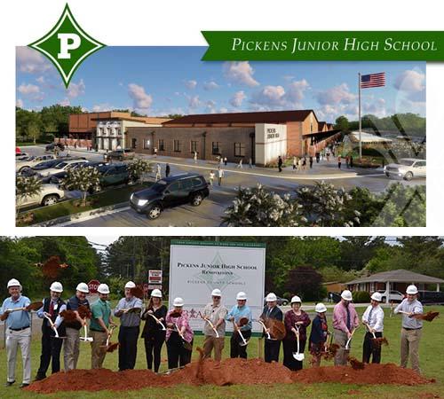 Pickens Junior High School Renovations