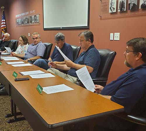 Pickens County Planning Commission September 2019
