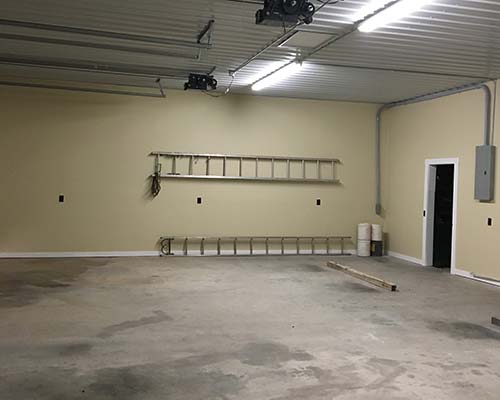 Some of the interior renovations at Grandview Fire Station 5-2.