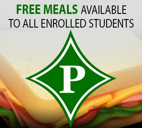 FREE Meals Available to All Enrolled Pickens Students