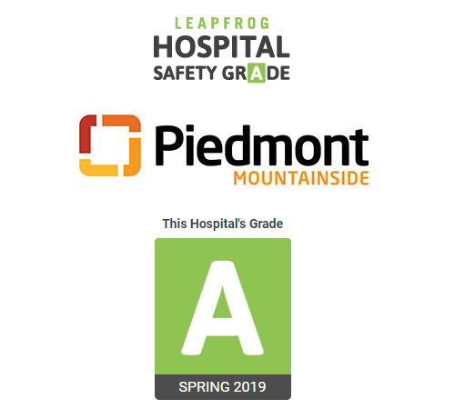 Piedmont Mountainside Hospital Earns Eighth  Consecutive 'A' Grade from Leapfrog