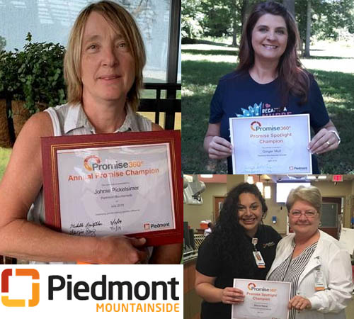 Piedmont Mountainside Celebrates Compassionate Caregivers at Awards Ceremony