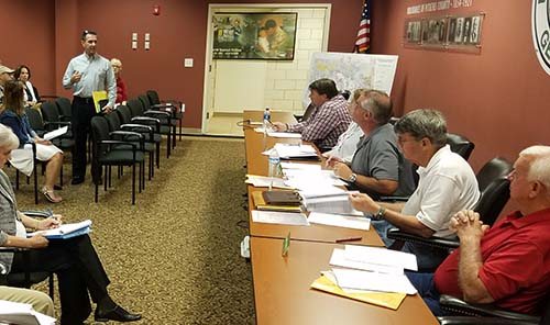 Pickens County Planning Commission July 2018 (Video)
