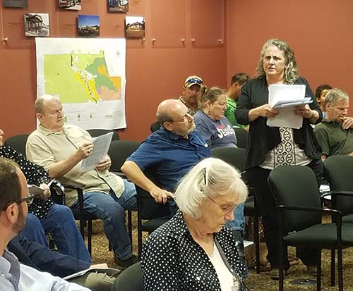 Pickens County Planning Commission October 2018