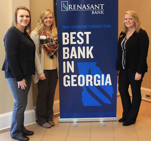 L-R:  Hannah Jones, Assistant Branch Manager, Heather Winchell, Senior Personal Banker, and Ashley Johnson, Head Teller