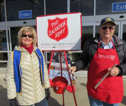 Ringing the Bell for Rotary