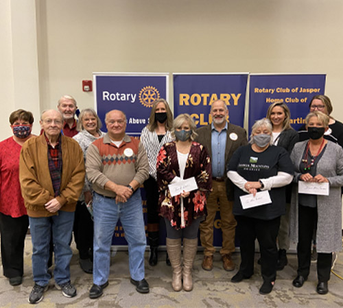 Rotary Gives $16,000 to Local Non-Profits