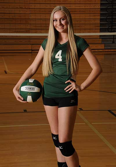 Savannah Laney is PHS Varsity Volleyball Player of the Week