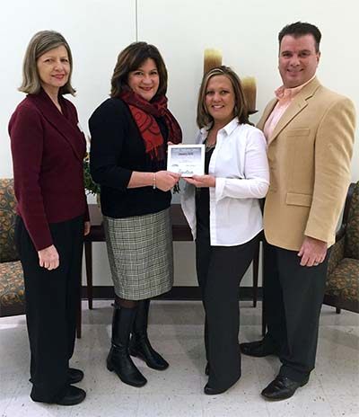 Country Financial Awarded Chamber Small Business of the Month