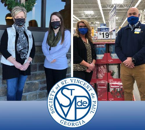 SVdP Christmas Program for 'Older' Children in Pickens County