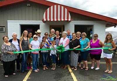 Tate Meat Market Ribbon Cutting Celebration