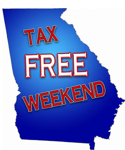 Sales Tax Holiday for Clothing, Computers, and School Supplies This Weekend