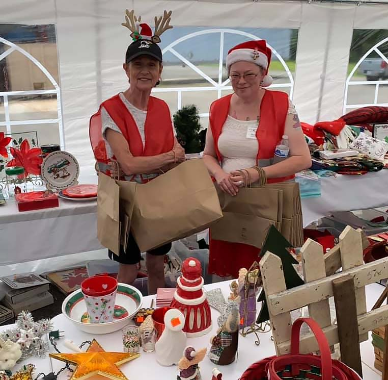 Community Thrift Store Christmas In July Huge Success