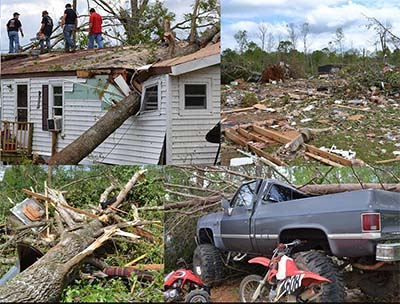 Five-Year Anniversary of Major Tornado in Pickens County
