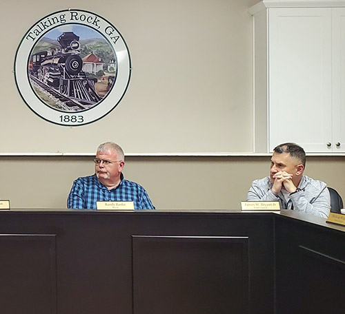 Town of Talking Rock Council March 2020