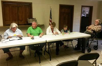 Town of Talking Rock Council March April Meeting (Video)