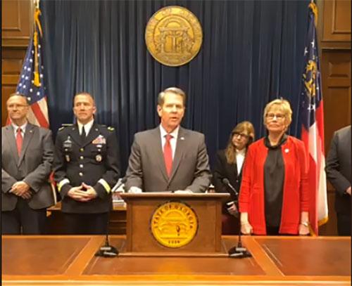 Kemp Declares Public Health State of Emergency