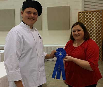 PHS Tyler Watson Placed 1st in Culinary Competition