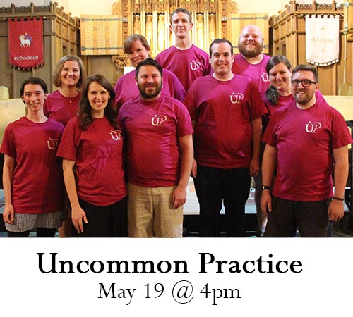 'Uncommon Practice' to Sing at Holy Family