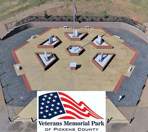 Veterans Memorial Park of Pickens County Update