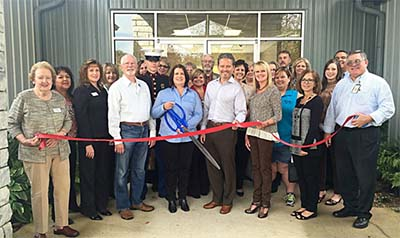 Ribbon Cutting for Young Living Essential Oils
